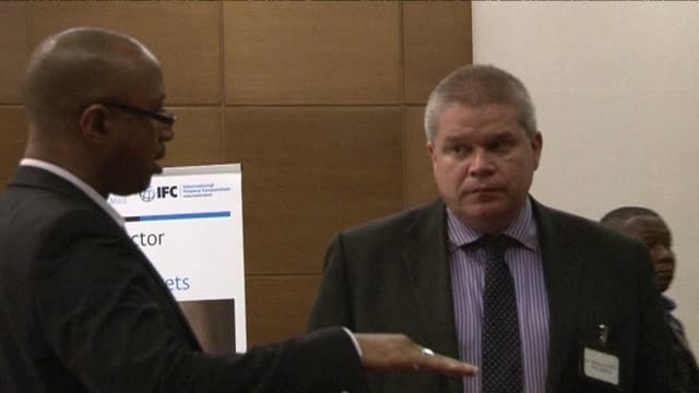 the world bank group holds a roundtable with private west african business leaders to discuss the impact of the ebola crisis and what investment... - round table discussion stock videos & royalty-free footage