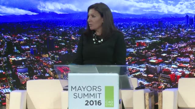 the world's big cities will need $375 billion of investment to curb climate change a major gathering of mayors heard thursday - thursday stock videos and b-roll footage