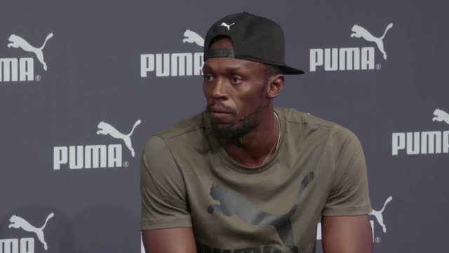 The world's fastest man Usain Bolt speaks ahead of his final race at the 2017 World Athletics Championships before he retires from the sport Bolt...