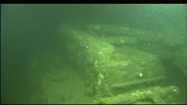 stockvideo's en b-roll-footage met the wreckage of the steamer portland rests at the bottom of massachusetts bay. - scheepswrak