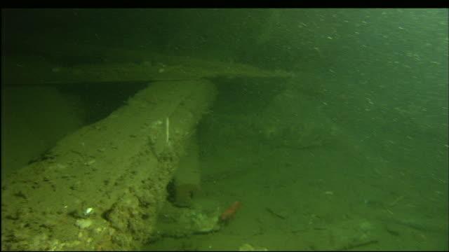 vídeos y material grabado en eventos de stock de the wreckage of the steamer portland rests at the bottom of the sea. - antigüedades