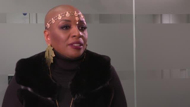 vidéos et rushes de contestant interviews; england: london: int janice robinson interview sot - concurrent