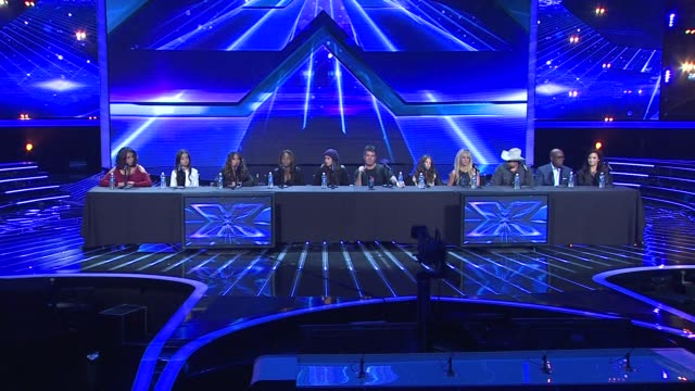 the x-factor season finale press conference 2012, los angeles, ca, united states, - the x factor stock videos & royalty-free footage