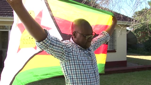 the zimbabwean pastor who led protests last year against president robert mugabe's authoritarian government was arrested at harare airport wednesday... - pastor stock videos and b-roll footage