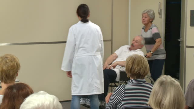HD: Theater Group Showing Emergency Treatment