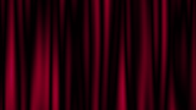 theater red curtain background, blurred motion - red stock videos & royalty-free footage