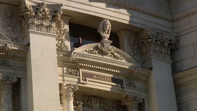 theater und opernhäuser wiens - hofburgtheater wien 03 - austrian culture stock videos & royalty-free footage
