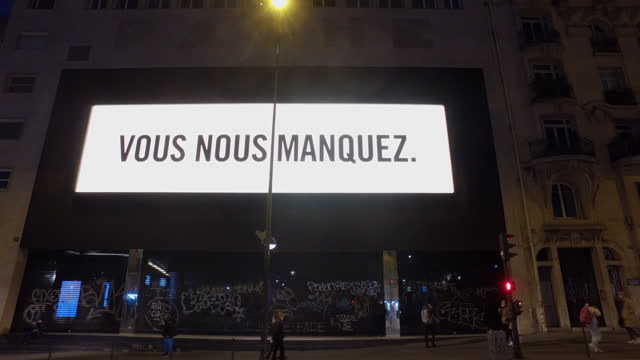 vidéos et rushes de theaters remain closed during the ongoing restrictions due to the coronavirus on december 15, 2020 in paris, france. the government announced to... - french culture