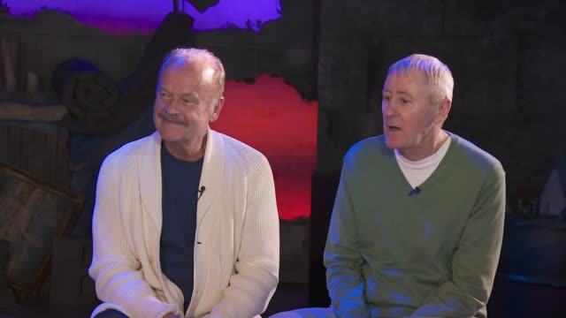 actors nicholas lyndhurst and kelsey grammer join forces in new musical; england: london: westminster: london coliseum: int nicholas lyndhurst... - nicholas lyndhurst stock videos & royalty-free footage