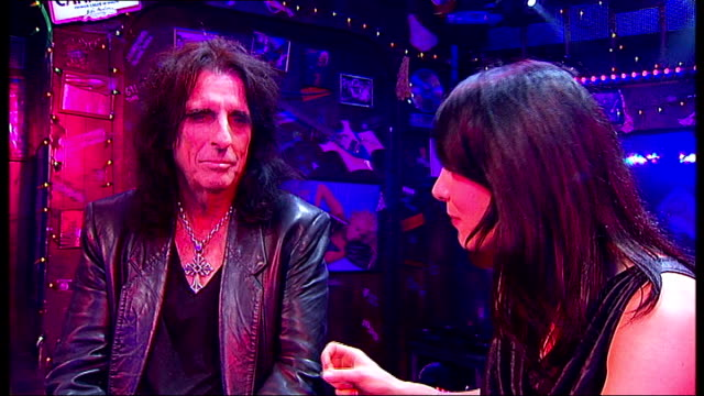 Alice Cooper joins cast of 'Rock Of Ages' for a night Alice Cooper interview SOT