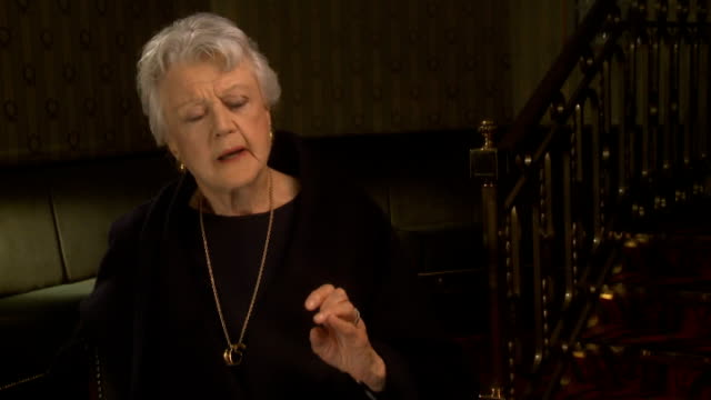Angela Lansbury to appear in 'Blithe Spirit' Lansbury interview SOT