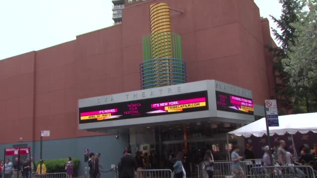 theatre at the 2011 tribeca film festival premiere of 'let the bullets fly' at new york ny - film premiere stock videos and b-roll footage