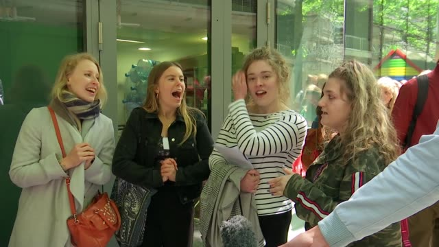 casting begins for west end version of disney's frozen england london the old diorama arts centre ext group of women singing song 'do you want to... - frozen stock videos & royalty-free footage