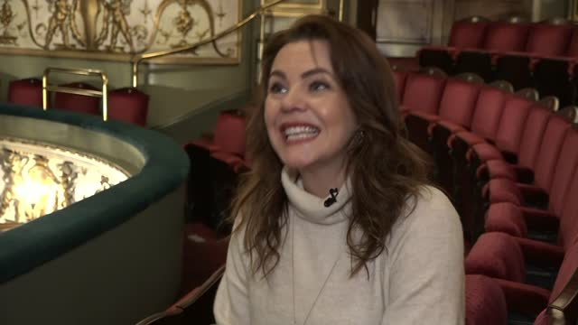 charity single raising money for theatre workers; england: london: int jay perry interview sot rachel tucker interview sot - ecstatic perry interview... - ecstatic stock videos & royalty-free footage