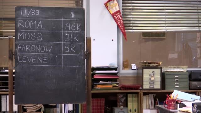 christian slater interview set up shot stage set - christian slater stock videos & royalty-free footage