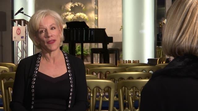 critics' circle theatre awards 2020 winners announced; england: london: int juliet stevenson interview sot - juliet stevenson stock videos & royalty-free footage