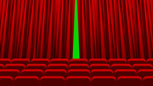 vídeos de stock, filmes e b-roll de cortina de teatro, abrindo e fechando a animação - arte, cultura e espetáculo