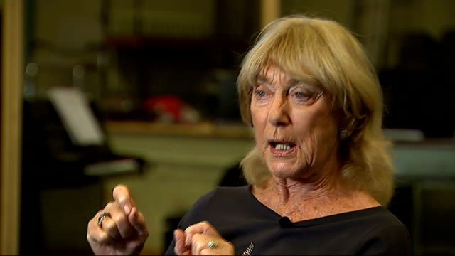 Dame Gillian Lynne talks of work on revival of Cats Reporter sat with Lynne Lynne interview SOT I feel the need to come up with fresh ideas