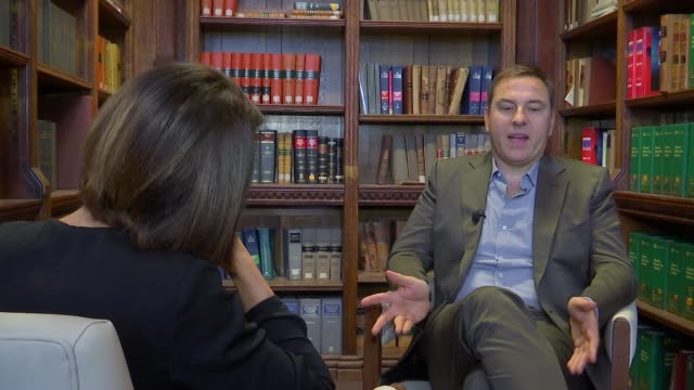 david walliams interview david walliams interview sot never based a character around simon cowell / on being compared to roald dahl / cutaways... - dahl stock videos and b-roll footage