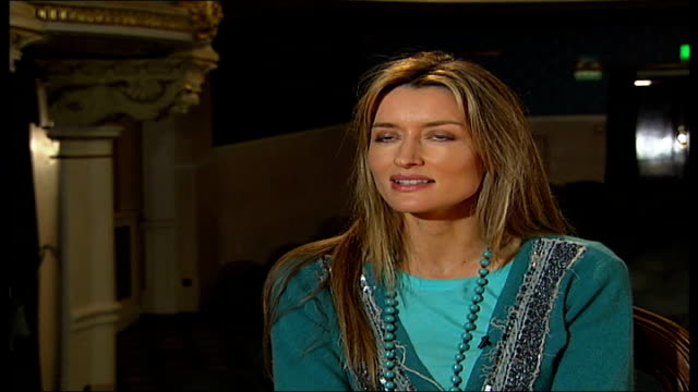 diana rigg and martin jarvis interview / 'honour' rehearsals; england: london: int natascha mcelhone interview sot - diana rigg stock videos & royalty-free footage