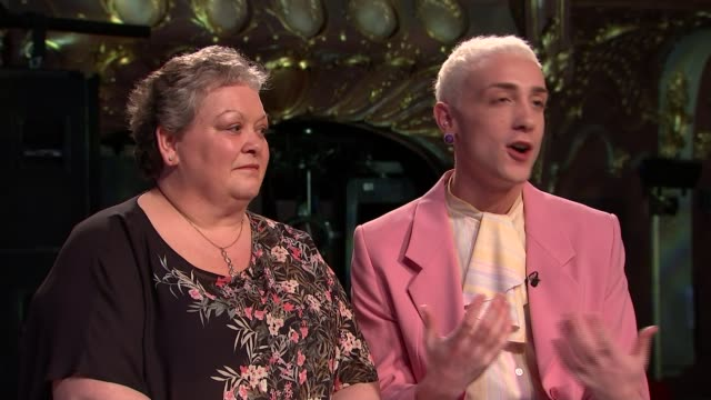 'Everybody's Talking About Jamie' musical Jamie Campbell interview Jamie Campbell and Margaret Campbell interview SOT