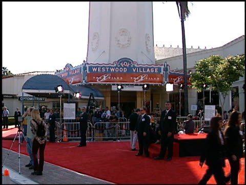 theatre exterior at the premiere of 'the x files fight the future' on june 11 1998 - the x files stock videos & royalty-free footage