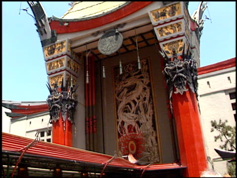 Theatre Exterior at the 'Star Wars The Phantom Menace' tickets on sale at Grauman's Chinese Theatre in Hollywood California on May 12 1999