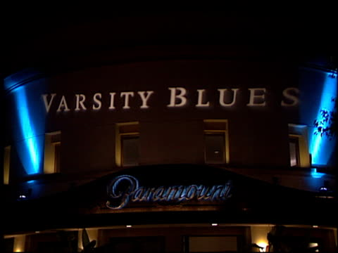 Theatre Exterior at the 'Varsity Blues' Premiere at Paramount Lot in Hollywood California on January 7 1999