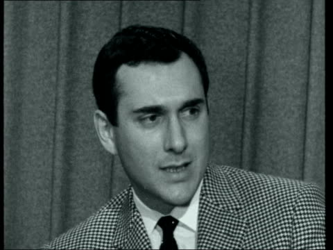 harold pinter interview ***also england london itn studio int harold pinter interview sof - harold pinter stock videos and b-roll footage