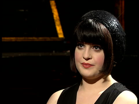 kelly osbourne's west end debut in 'chicago' kelly osbourne interview sot on making her dad cry tears of joy for the first time since she was born /... - body adornment stock videos and b-roll footage