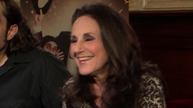 Mel Brooks' Young Frankenstein cast interview ENGLAND London Garrick Theatre INT Ross Noble and Lesley Joseph interview SOT re the play / working...
