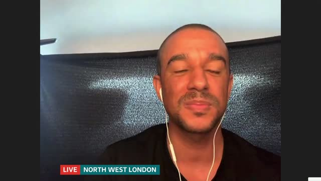musical podcast starring 'hamilton' actor launches; england: london: gir: int karl queensborough live 2-way interview sot - news not politics stock videos & royalty-free footage