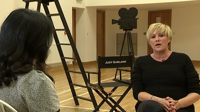 new Judy Garland musical starring her daughter Lorna Luft Lorna Luft interview SOT
