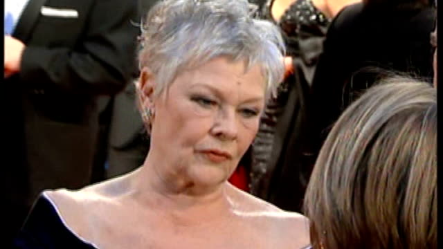 new production of the madness of king george r11020704 royal opera house dame helen mirren arriving for bafta awards dame judi dench arriving for... - judi dench stock videos & royalty-free footage