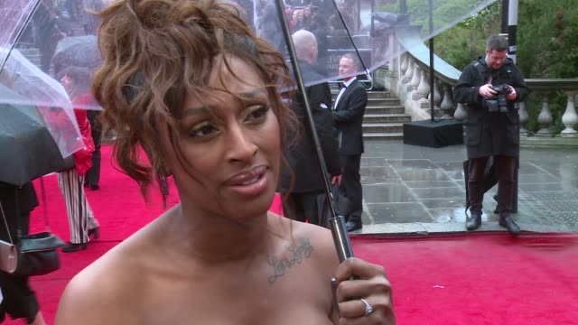 olivier awards 2018 red carpet and winners room; alexandra burke interview sot ronan keating and harriet scott interview sot cuba gooding jr.... - ronan keating stock videos & royalty-free footage
