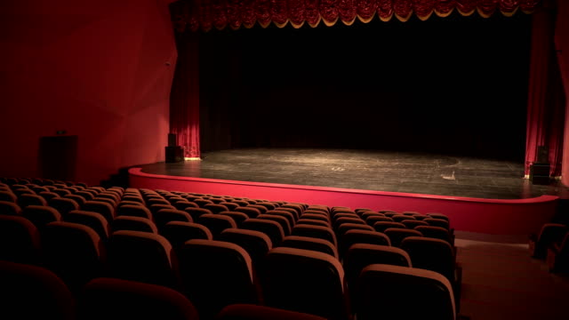 theatre, opera, concert, conference center - stage set stock videos & royalty-free footage
