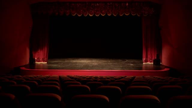 vidéos et rushes de théâtre, opéra, concert, centre de conférences - curtain