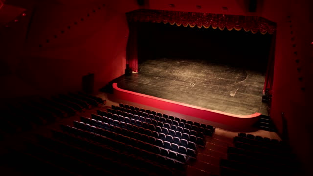 theatre, opera, concert, conference center - theatrical performance stock videos & royalty-free footage