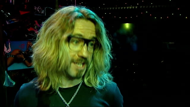 Rock of Ages Shayne Ward and Justin Lee Collins interview ENGLAND London Shaftesbury Theatre INT Shayne Ward and Justin Lee Collins interview SOT On...