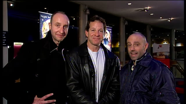 steve guttenberg to star in london panto; england: london: gir: int steve guttenberg live 2-way interview alongside two other cast members from the... - スティーヴ グッテンバーグ点の映像素材/bロール