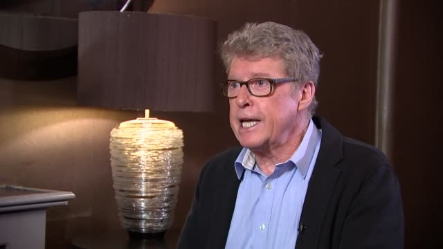 'the go-between': michael crawford intertview; michael crawford interview sot - michael crawford stock videos & royalty-free footage