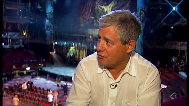 'the phantom of the opera' 25th anniversary royal albert hall performances sir cameron mackintosh interview sot - royal albert hall stock videos and b-roll footage