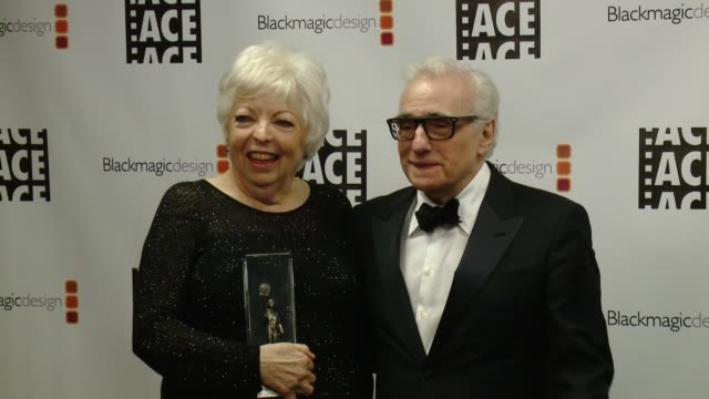 Thelma Schoonmaker Martin Scorsese at 67th Annual ACE Eddie Awards in Los Angeles CA