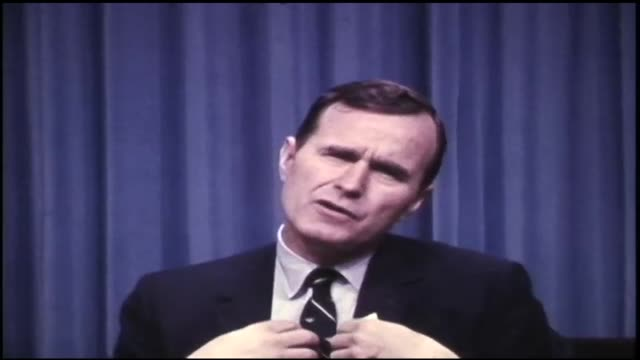 then-congressman george h w bush talks about the oil depletion allowance - fossil fuel stock videos & royalty-free footage