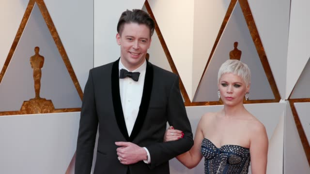 Theo Green and Anina Pinter at the 90th Academy Awards Arrivals at Dolby Theatre on March 04 2018 in Hollywood California