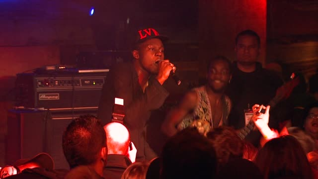 theophilus london at bing bar sundance 2012 - day 5 in park city, utah, on 1/23/2012 - day 5 stock videos & royalty-free footage