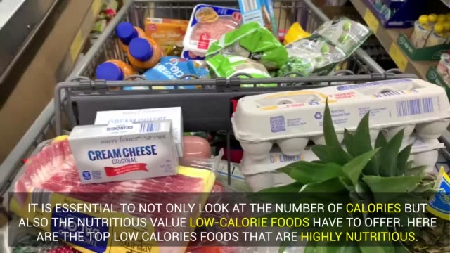 "there are all kinds of low-calorie diet foods sitting on your grocery store shelves, however all ""low-calories"" foods don't necessarily have... - label stock videos & royalty-free footage"