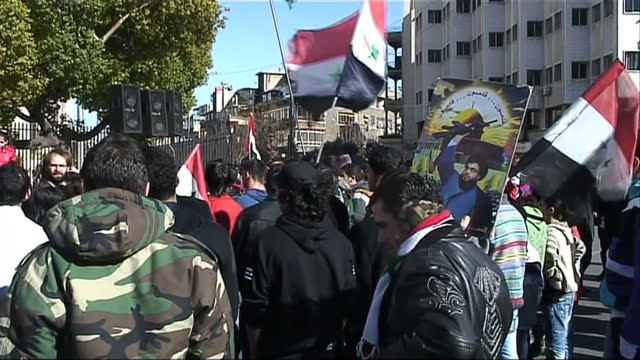 there have been more protests in syria - calling for the downfall of the regime. the demonstrations come as arab league officials say the observer... - revolution stock videos & royalty-free footage