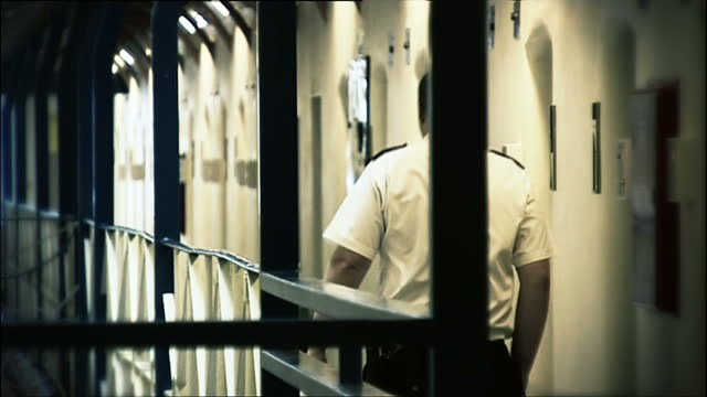 there's a new warning that prisoners in england and wales are at risk from rising levels of violence selfharm and suicide willem marx reports shows... - prison reform stock videos & royalty-free footage