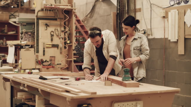 there's always work to be done in this industry - carpenteria video stock e b–roll